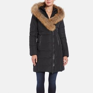 Mackage Kay Racoon-Fur Trim Down Coat